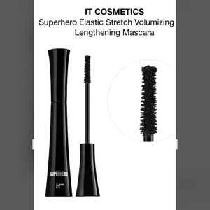 IT cosmetics volumizing mascara in Super Black.
